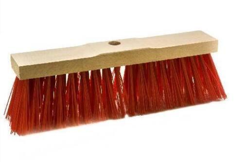 Elaston rojo sillín de madera Straßenbesen 40 CM