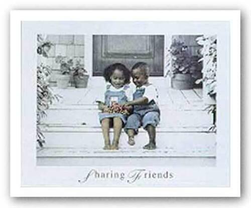 AFRICAN AMERICAN ART PRINT Sharing by Gail Goodwin