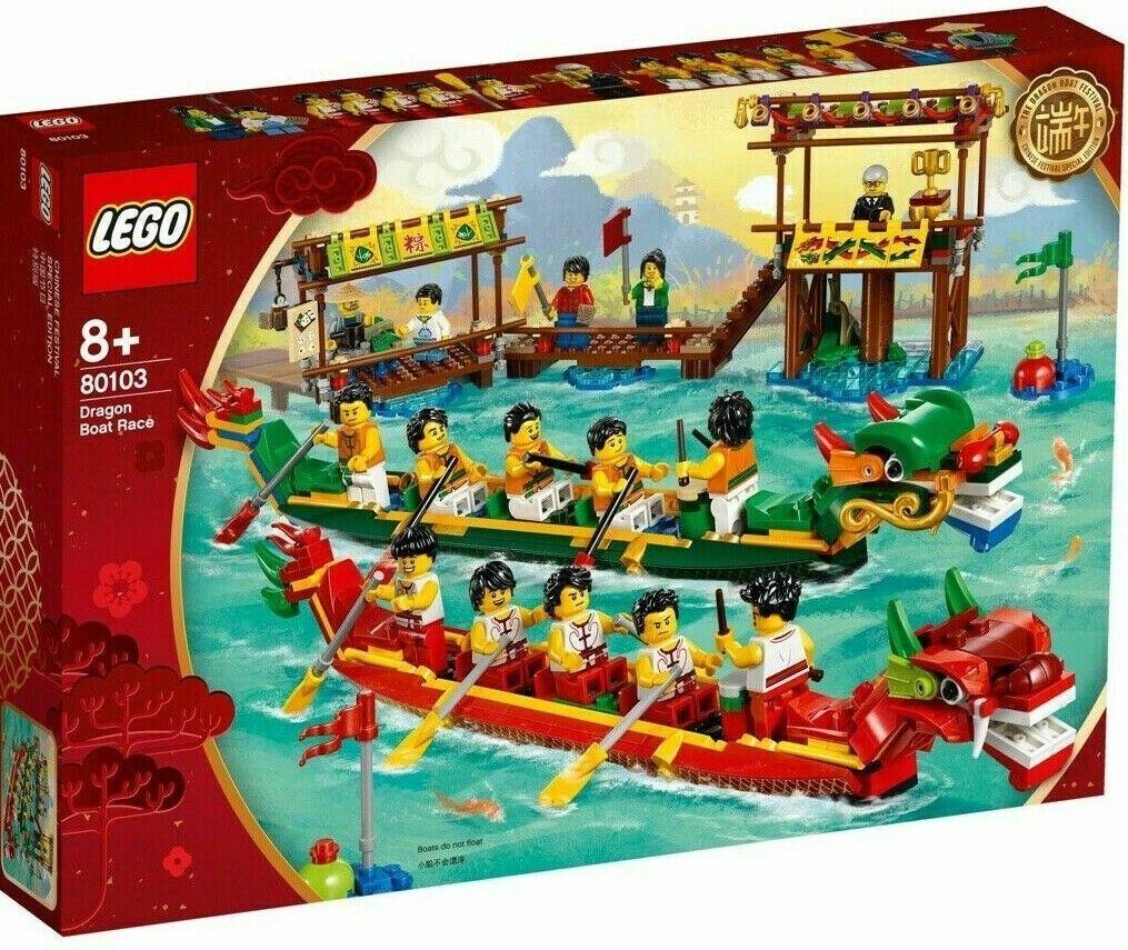 Lego® EXCLUSIVE - 80103 +++ DRACHENStiefelRENNEN +++   NEU & OVP