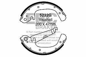 5232 G EBC Frein Arrière Chaussures Fit Opel Vauxhall Opel Chevette Chevanne