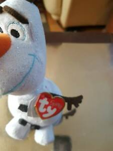 Image is loading Disney-Frozen-Olaf-TY-beanie-baby-with-tag bcea2f8dbfa