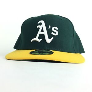 ceabe3d4dab MLB Oakland A s Athletics New Era On Field Baseball Cap Hat Fitted 7 ...