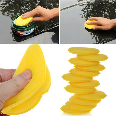 36Pcs Car Foam Waxing Pads Vehicle Sponge Applicator Clean Paint Polish Pad