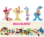 Figurines-Walt-Disney-Collection-Mickey-Mouse-And-Friends-Jouet-Statue-Bullyland miniature 9