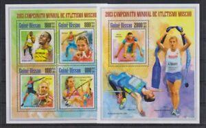 E901.Guinea-Bissau - MNH - Sports - Olympics - Nature