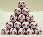 24 Callaway Chrome Soft Truvis Golf Balls - Soccer Ball - Red