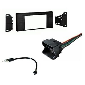New-Double-Din-Install-Radio-Stereo-Mount-Dash-Kit-For-BMW-x5-E53-2000-2006