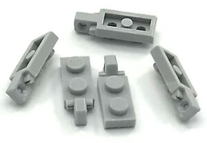 Lego 5 New Dark Bluish Gray Plates 2 x 3 Pieces