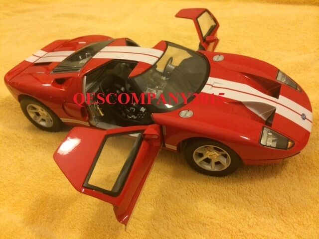 Motormax 1 12 Scale Die-Cast Collection Ford GT Concept (RED)