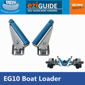 Ark Boat Loader For Boat Trailer EziGuide Loading Self-Align 10MM Spring EG10