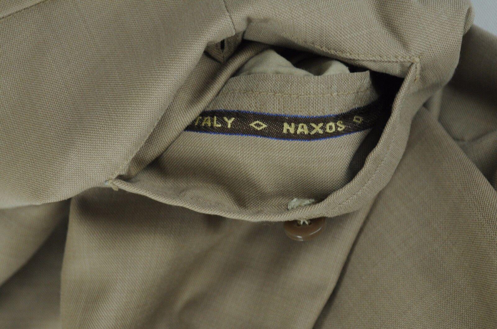 Naxos Herren Luxus Braun Allwetter Allwetter Allwetter Wolle Anzughose 32 X 29 05fbda