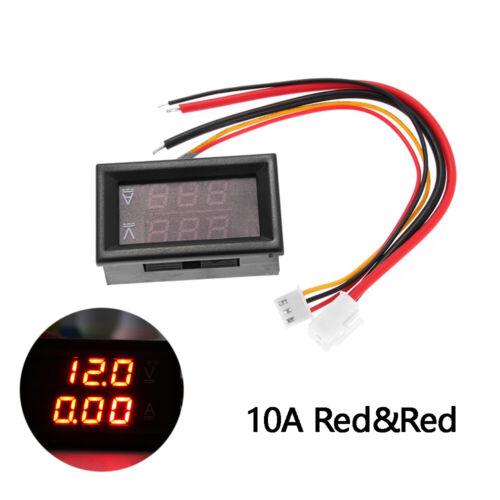 10A 50A 100A Amp Volt Tester  Voltage Current Meter Digital Voltmeter  Ammeter