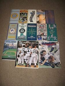 Seattle Mariners media guides
