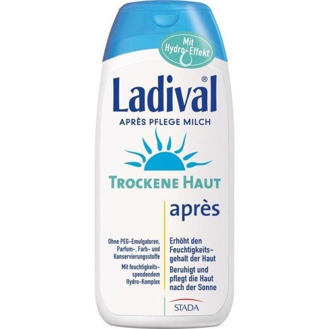 LADIVAL trockene Haut Apres Pflege Milch   200 ml   PZN11168530