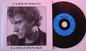 Johnny-HALLYDAY-CD-single-L-039-AMOUR-VIOLENT