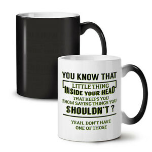 Sarcastic Honest NEW Colour Changing Tea Coffee Mug 11 oz | Wellcoda