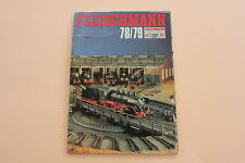 P997 Catalogue Train FLEISCHMANN Ho N 1978 1979 88 pages