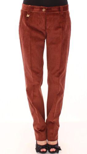 droite velours Avec et côtelé Dolce marron en Nouveau Gabbana étiquette w7EEI