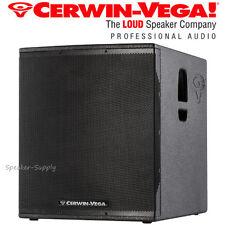 """Cerwin Vega CVX-21S 21"""" 2000 Watt Powered Subwoofer Speaker DJ Pro LIve PA New"""