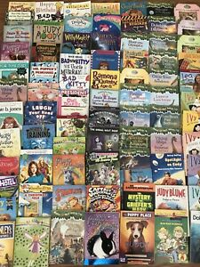 Childrens Chapter Book Lot Of 78 Beginning Reading Ar 2nd 3rd 4th