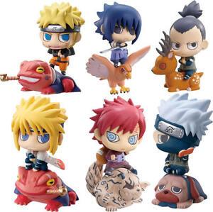Naruto-Shippuden-Set-of-6PCS-Kakashi-Sasuke-Shikamaru-Gaara-Figures-6CM-Gift-NIB