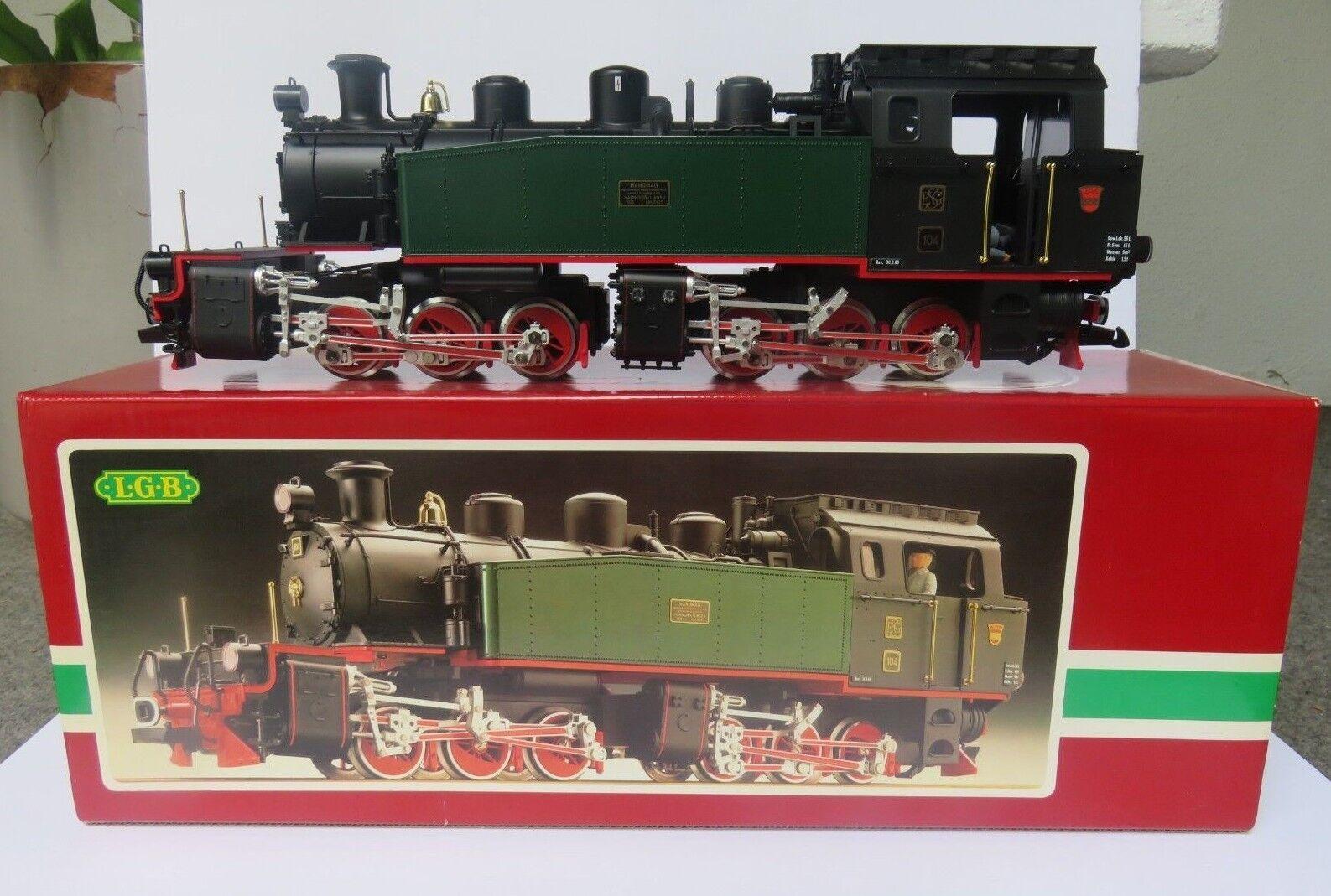 LGB 2085D II Mazo Motor Escala G Locomotora de vapor 0-6-0 W Germany