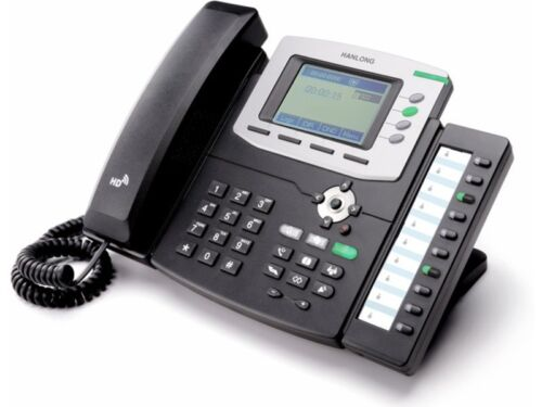 Htek UC806P HD VoIP IP PoE Business Phone w// Power Supply 4-Lines BRAND NEW