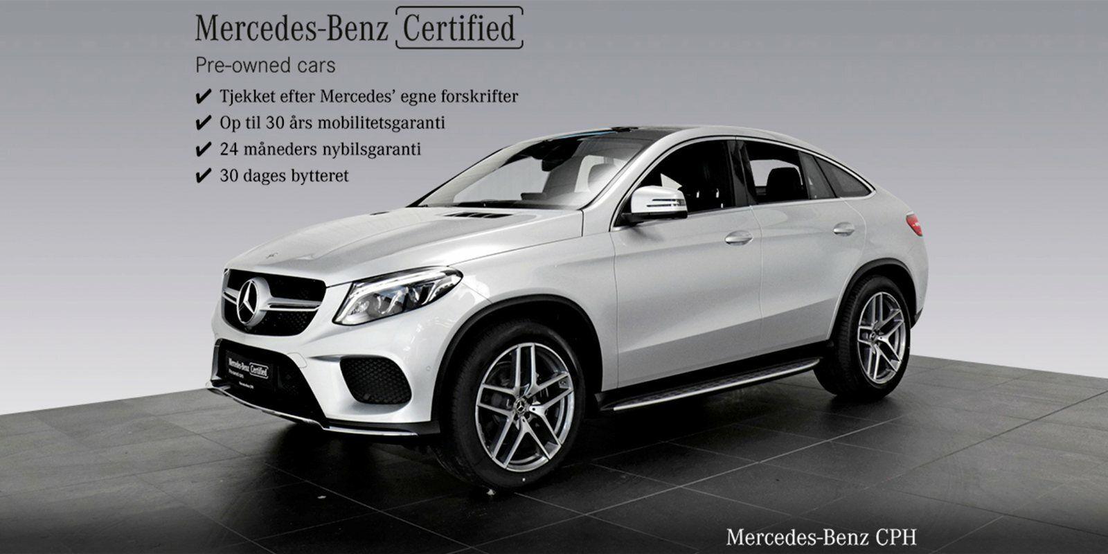 Mercedes GLE350 d 3,0 Coupé aut. 4-M 5d - 1.039.900 kr.