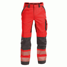 DASSY Flux 200975 Stretch Holster Pocket Kneepad Work Trousers Red