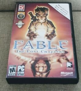 Fable-The-Lost-Chapters-for-PC-LionHead-Studios-2005-Complete-Free-Ship