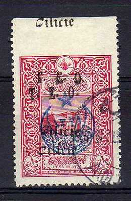 CILICIE TURQUIE n° 63 oblitéré variété -  Cilicia Turkey used stamp