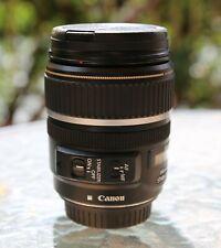 Canon EFS 17-85mm f4-5.6 Is USM lens in original box