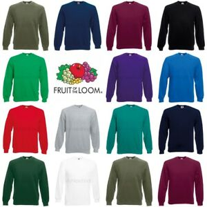 Fruit-of-the-Loom-Raglan-Sudadera-Clasico-De-80-20