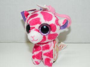 c21b9249fce TY beanie boo s kEY CLIP TWIGS THE GIRAFFE pink Boo NWT Backpack 3 ...