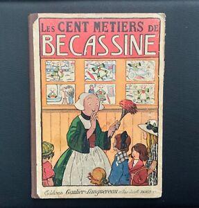 Les-cent-metiers-de-Becassine-Ed-semaine-de-Suzette-1931