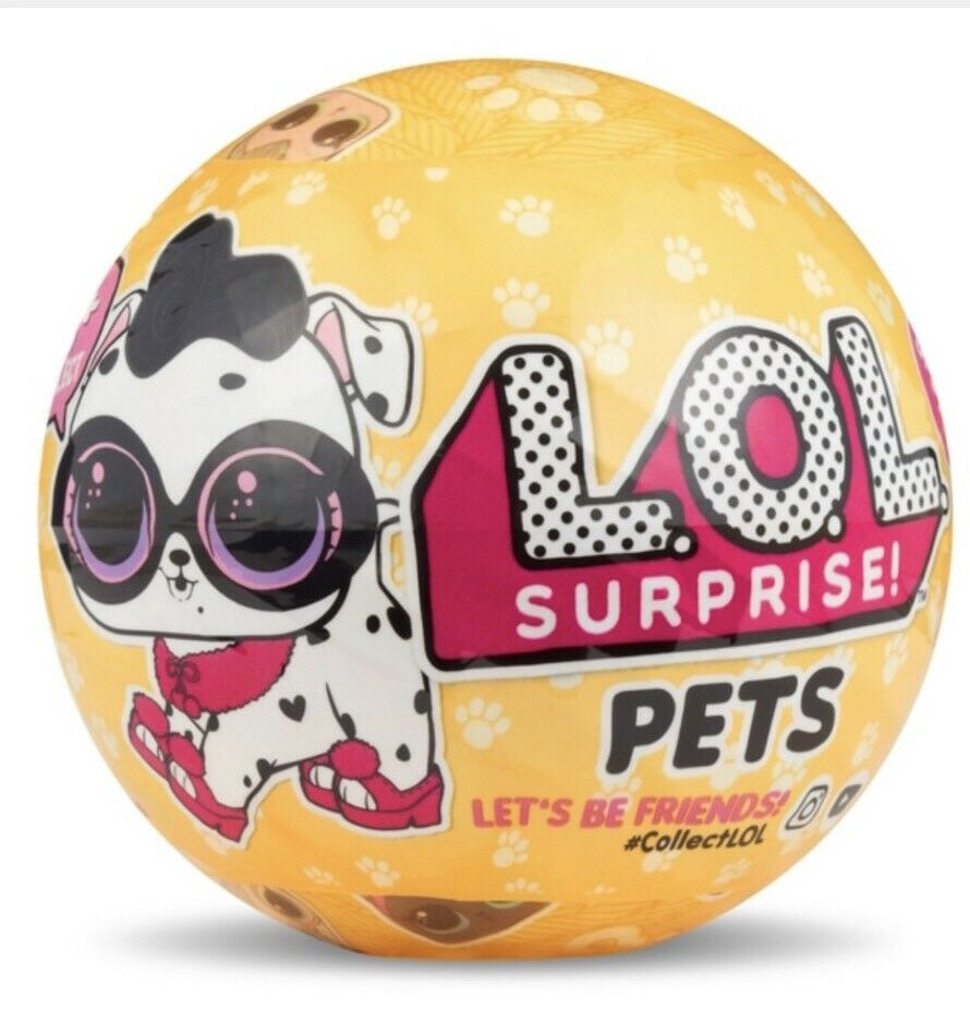 5 X Lol Surprise Pets series 3 wave 2 - New Sealed
