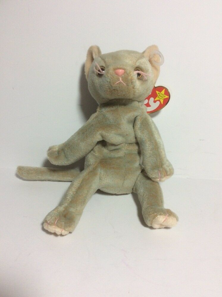 Ty Scat Cat May 27, 1998 Misprint Tag Rare Retired