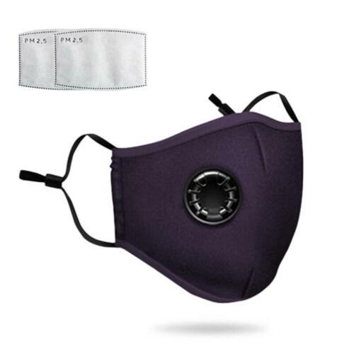 Wiederverwendbar Atemschutz Gesichtsmaske Mundschutz Staub Waschbar DE