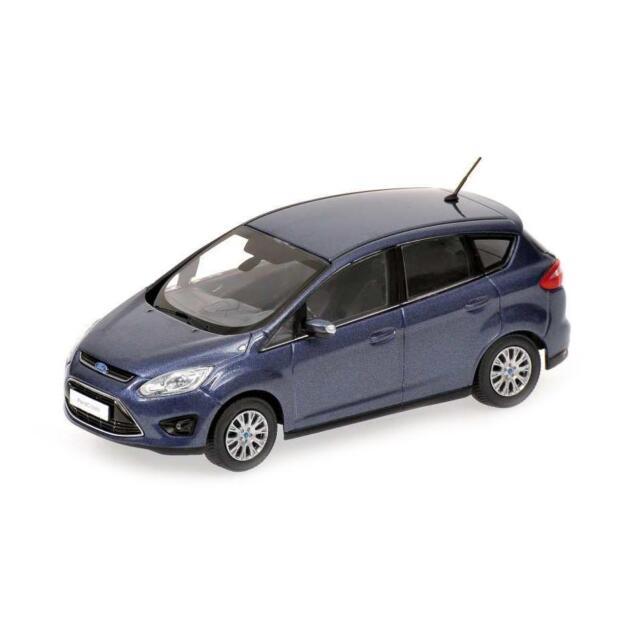 Ford C-max Compact 2010 Blue Metallic 1:43 Model MINICHAMPS