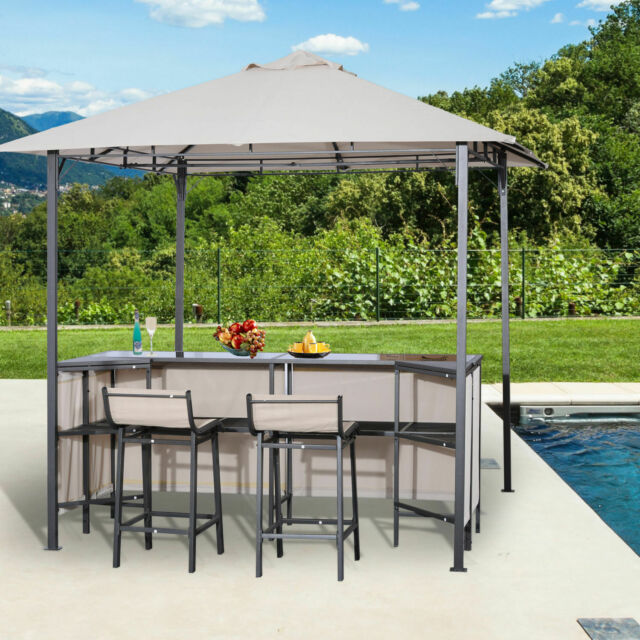 Outsunny Outdoor Bar Table Set Cloth