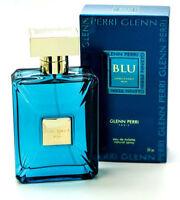 Unbelievable Blu Men By Glenn Perry 3.0oz /90 Ml Edt Spray For Men In Box