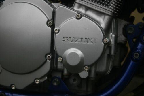 Kawasaki KX 125 V2A Motorschraubensatz Edelstahl Super Optik