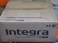 Integra By Onkyo Dpc-7.9 / 6 Disc Dvd Cd Carousel Changer Player Hdmi Output