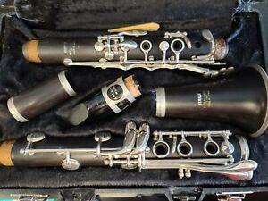 Yamaha 34 Holz Klarinette & Hard Case