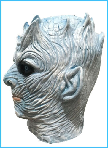 Game of Thrones Night/'s King Latex Mask White Walker Zombie Party Cosplay Props