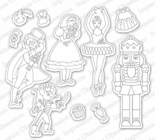 Impression Obsession Dies Nutcracker Sweets DIE575-YY NEW RELEASE