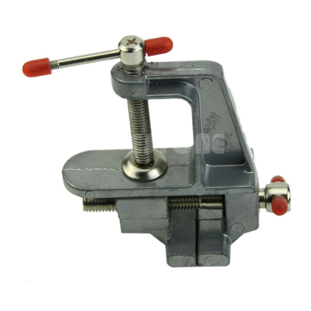 "3.5"" Aluminum Mini Jewelers Hobby Clamp On Table Bench Vise Vice Tool"