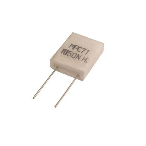 4 resistencia mpc71 alto last 0,22ohm 5 vatios banda de metal 0,22r 5w 850690