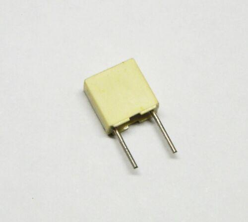 0,1uF 100V 5/% 2,5X6,5X7,2mm Passo 5mm 100 pezzi Condensatore Poliestere 100nF