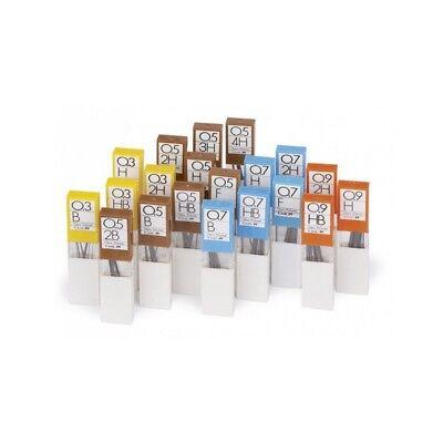 Druckbleistiftminen,Ersatzminen 0,7,2H-H-F-HB-B je 12 Minen TOMBOW
